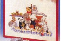 Cross stitch / Teddy bear