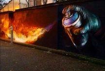 urban stuff / Grafitti in the city.