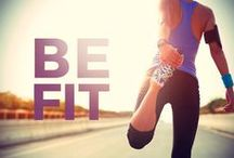Be FIT! Sport wear / Sport shoes / Sport clothes / Fitness / Running