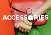 Accessories/ Jewellery/ Watches / Stylowe akcesoria, biżuteria oraz zegarek. Idealne uzupełnienie modnych stylizacji.