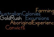 """Group 21 History / THE AUSTRALIAN COLONIES for the Stage 3 History Classroom. """"A student describes and explains different experiences of people living in Australia over time."""" (NSW History syllabus outcome HT3-2). This Pinterest board has been created as part of EDSS379 History, 2016, by Group 21 - Kerene, Vanessa and Samantha."""
