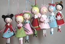 Clothespin, Spoon, Spool, BeadHead, Toothpick, Nesting, Popsicle, PipeCleaner Dolls / by Shug PetiteFairy