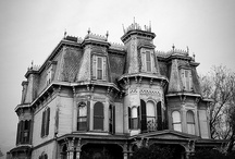 old eerie houses and mansions