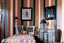 INSPIRATION / Stripes / Stripe print wallpapers and strped fabrics all available from House Decor Interors #stripes / by House Decor Interiors