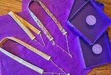 NUEVA COLECCIÓN DE COLLARES DE EMABEL / Originales collares de tela, plata de ley y cristal de swarovski. #Handmade #Craft #Hechoamano #LibertyPrint  #SewLiberty