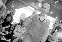 Fashion Shows / We run fashion shows in the boutique in Dartmouth, at outside events in the local area and 'pop-up' shows across the South of England. Here are some favourite shots, enjoy.