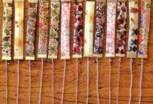 NUEVA COLECCIÓN DE PULSERAS DE EMABEL / Originales pulseras de tela, plata de ley y cristal de swarovski. #Handmade #DIY #Craft #Hechoamano