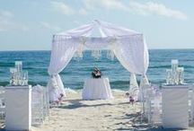 Unforgettable wedding package / Pensacola Beach ~ Perdido Key ~ Orange Beach ~ Gulf Shores ~ Elegant Beach Wedding ~ white wedding www.CoastalSoirees.com