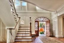 Entryway, doors, staircases and more / by CHRISTINA MARTINEZ