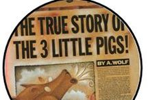 The True Story of the Three Little Pigs / Fun Activities for before or after the show!