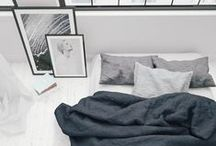 Downstairs Guest Room. / A room for a close one to breathe, relax and gather new strength.