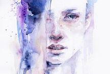 Artists | Agnes Cecile, Guy Denning, Loui Jover