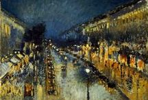 ART | Impressionism / Sometimes paintings turn into windows, doors and even teleporters ♥