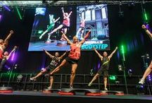 Les Mills BODYSTEP / BODYSTEP™ is the full body cardio workout to really tone your butt and thighs. Burn calories and leave buzzing with satisfaction.