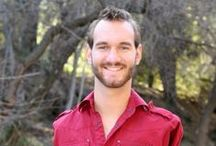 Artist | Nick Vujicic / His birth was considered a disaster.Today he is a motivational speaker, husband & father. He wants to reach the world & speak to as many people as possible.His
