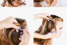 Braided Hairstyles / Braided hair styles for long and short hair, in the latest fashions