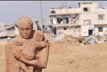 Art | Arab–Israeli conflict (Urban Art) / Banksy, JR, Iyad Sabbah,...