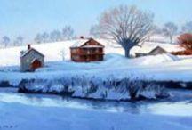 Landscapes / Landscape artists and their work.