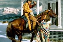 Western Illustration / Western book illustration and paintings