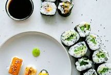 Sushi / Outstanding Sushi photography and creative, different approaches