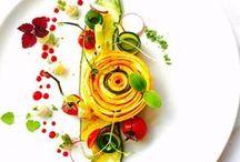 Art sur assiette/Food plating