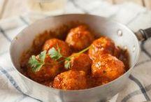 food - main courses - meatballs & vegballs etc