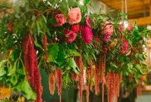 Flowers - Hanging Garlands & Floral Chandeliers