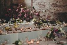 Style - Dusky Romance / Inspired by a feeling of romantic, moody duskiness. Late afternoon setting sun, a soft palette with touches of darkness, moody cello music as you walk down the aisle.