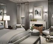 Gray to Stay / Gray is the color of the moment but that moment looks like it may be here to stay. See all different spaces decked out in hues of luxurious gray.