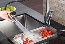 Stunning Sinks / Sinks, faucets, and farm sinks of all shapes, sizes, materials and colors.