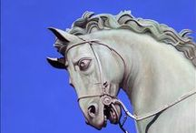 Statue Paintings / Original Oil Paintings of Statues by Artist Matthew Bates