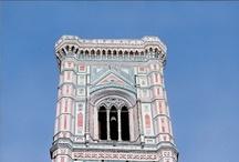 Campanile di Giotto / Oil on Canvas - 50cm x 150cm | ©2003, Matthew Bates, All Rights Reserved | Private Collection