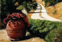 Landscape Paintings / Landscape paintings by Matthew Bates