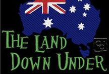 Australia ~ the land down under... / pronounced: osstrayleeyah ~ world's 6th largest country in total area,ranks highly in many international comparisons of national performance;quality of life,health,education,economic freedom,protection of civil liberties & political rights. Land of many physical & cultural contrasts melded into one incredible unit. Neither down or under & even though small, as populations go (22 mill), we stand tall on the world stage. Jan 2013 rated 2nd best place in world to live; in June the happiest. OWZAT?  / by Monica M Barker