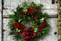 Christmas / At Christmas I want traditions, like red and green, fresh pine, holly berries and shiny trees. (Sorry, my friends with pretty stores, but you need to rethink this all white Christmas thing. It's just plain COLD. And that's a memo.) / by Esther Wrightsel