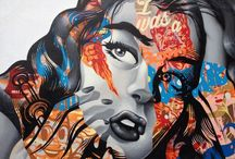 Mexican Street Art / Artistic expressions in or inspired by Mexico
