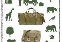 All about SAFARI style / Safari inspired TATYZ luggage, bags, shoes & my points of inspiration