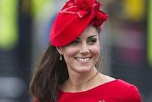 Kate Middleton / She's beautiful, classy, seems humble and an overall nice person. For that, I respect her! / by Teresa Hurst