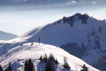 Les Alpes du Léman - Paysages d'Hiver / Winter landscapes / Nos montagnes, notre neige, vos vacances... #Làoh en hiver