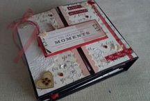 Mini-albums and folios - papercraft