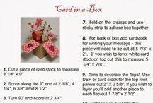 Downloadable/printable tutorials - papercraft