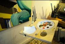 Art Materials / The art materials I use to make my original oil paintings