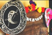 Mexican Fiesta Decoration & Ideas / Mexican decorations and ideas for a Mexican-themed party, wedding, Cinco de Mayo, or Independence Day celebration.