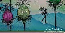 Carte - Lavinia Stamps / Card, tag