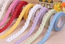 AC - Ruban (Ribbon fabric, washi tape) / Ruban en tissu
