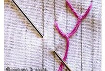 AC - Broderie ou point de couture (Embroidery et stitches) / broderie, couture, embroidery, stitches