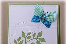 Carte - Ruban, boucle, corde, laine (Ribbon Card)