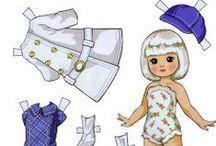 AC - Poupée de carton (Paper dolls)