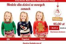 NOWOŚCI I PROMOCJE - SWETRY I POŚCIELE ŚWIĄTECZNE / Co roku dodajemy nowe modele do naszej kolekcji #swetrów damskich, męskich i dziecięcych a także różne rozmiary #pościeli #świątecznej. Szukajcie na swetryswiąteczne.pl