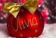 Wyjątkowe bombki / Bombki w własnymi dedykacjami lub Twoim imieniem. Rewelacyjny pomysł na prezent, indywidualna pamiątka na świątecznym drzewku .